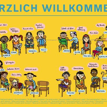 Bündnisse für Flüchtlingskinder