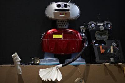Kinderzimmer Roboter