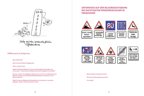 Unterwegs in Pädagogien Innenansicht Seite 36-37
