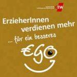 Für ein besseres EGO. Kampagne der GEW