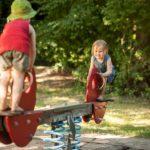 Thema Inklusion: spielende Kinder