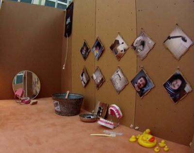 Ausstellung: Kuh im Kühlschrank
