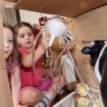 Kuh im Kühlschrank: Küche