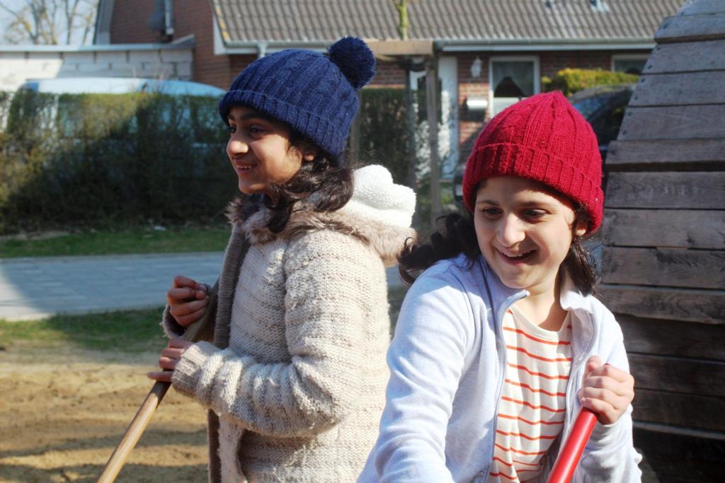 Afghanische Familie in Mecklenburg