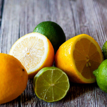 Kopfüberkind: Zitronenschale