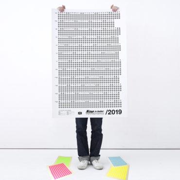 Kalender: Dein Jahr auf den Punkt gebracht