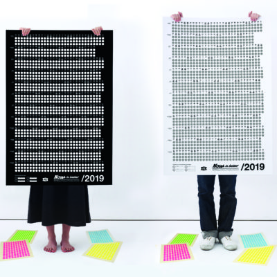 now is better Kalender 2019
