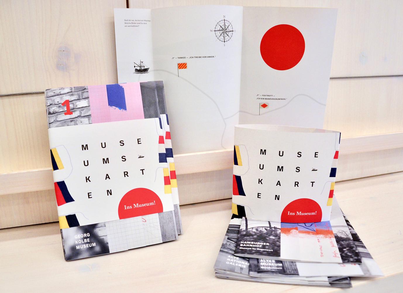 Ins Museum! Museumskarten im Set und ausgepackt