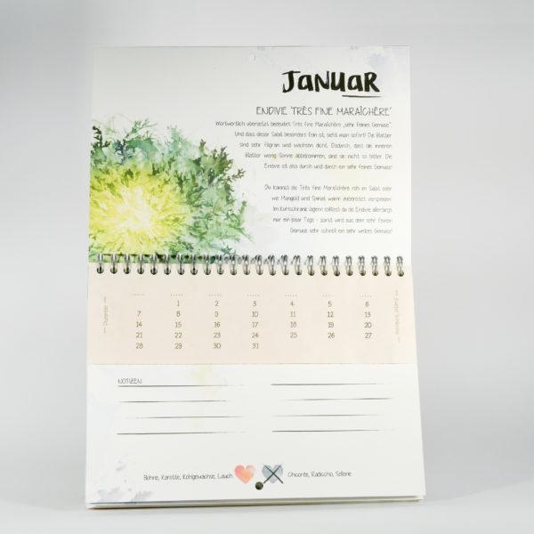 Tausendsassa Kalender Detailseite Januar