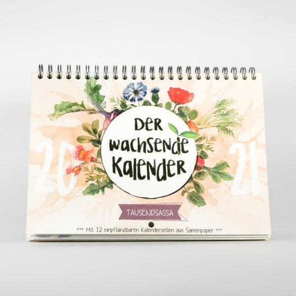 Tausendsassa Kalender von vorn