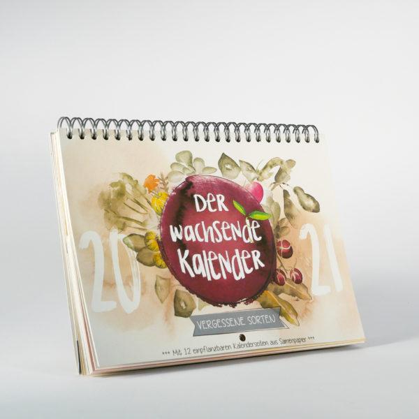 Vergessene Sorten Kalender von vorn